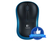 MYSZ LOGITECH Wireless M185 niebieski - 910-002239