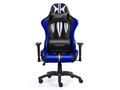 Warrior Chairs fotel gam. Sword black/blue + GAMEPAD I-BOX GP1 BLUETOOTH - 5903293761106
