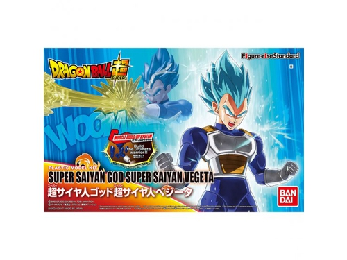 Figurka FIGURE RISE DBZ SUPER SAIYAN GOD VEGETA