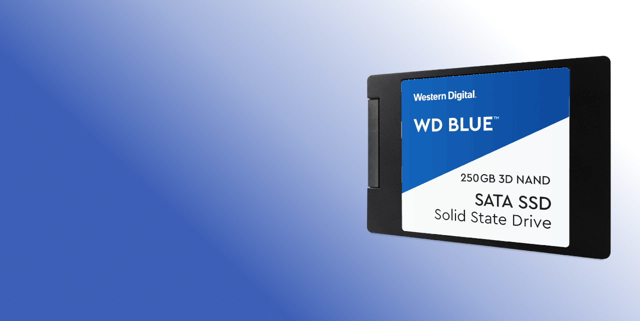 #Dysk WD Blue SSD 2.5'' 500GB SATA/600, 560/530 MB/s, 7mm, 3D NAND