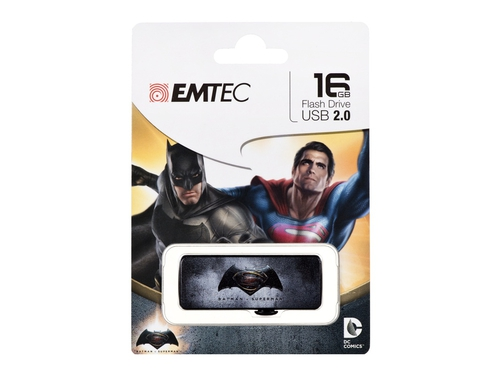 Pendrive EMTEC Batman vs Superman 16GB USB 2.0 ECMMD16GM700BM0