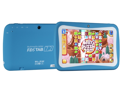 "Tablet BLOW KidsTab 7.4 79-005# 7,0"" 8GB WiFi niebieski"