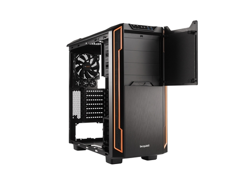Obudowa be quiet! SILENT BASE 600 Window Orange - BGW05