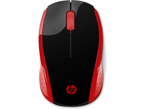 Mysz HP 200 Emprs Red Wireless - 2HU82AA
