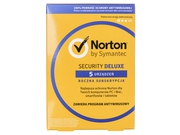 Oprogramowanie antywirusowe Norton Security Deluxe 3.0 PL 1 User 5D/12M Card MM - 21357600