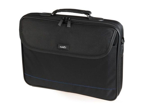 "TORBA NOTEBOOK NATEC IMPALA BLACK-BLUE 15,6"" - NTO-0335"