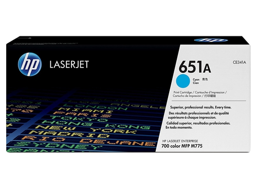 Toner HP 651A cyan | contract - CE341AC