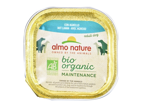 ALMO NATURE Daily Menu BIO Dog Jagnięcina 100g