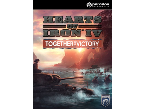 Gra PC Mac OSX Linux Hearts of Iron IV: Together For Victory wersja cyfrowa DLC