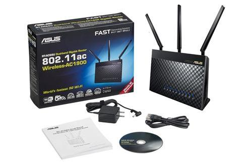#Router ASUS RT-AC68U Dual-Band Wireless 802.11ac-AC1900 Gigabit USB 3.0