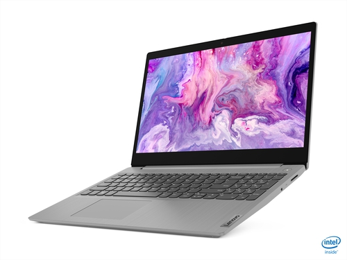 "Lenovo IdeaPad 3 15IIL05 i5-1035G4 15.6"" FHD TN 220nits Anti-glare 8GB DDR4-2666 256GB SSD M.2 2242 PCIe NVMe 3.0x2 Windows 10 PL 81WE00U1EU Platinum Grey 2Y"