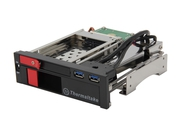 Panel do obudowy Thermaltake Duo HDD Dock 2,5/3,5 SATA3 + 2xUSB 3.0 Czarna - ST0026Z