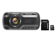Wideorejestrator KENWOOD DRV-A501W - GPS/WiFi + GOODRAM microSDHC 32GB class 10 UHS I + adapter