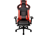 Fotel gamingowy Thermaltake eSports GT Fit F100 Black Red GC-GTF-BRMFDL-01 kolor czarny