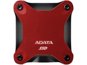 ADATA DYSK SSD External SD600Q 240GB USB3.1 Red - ASD600Q-240GU31-CRD