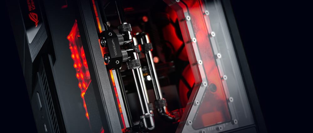 #Obudowa Asus ROG Z11 (with Action Figure)