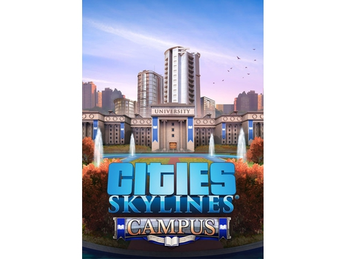 Cities: Skylines - Campus Rock Radio - K01423