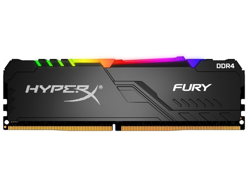 Kingston HyperX FURY RGB 16GB 2400MHz DDR4 CL15 - HX424C15FB4A/16