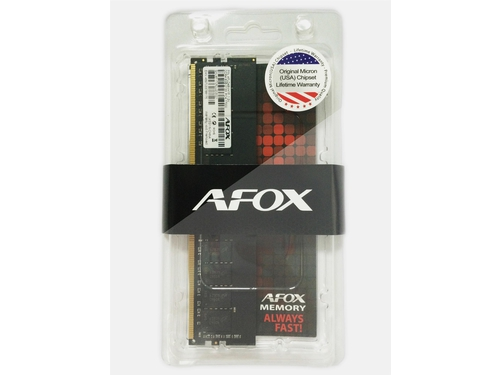 AFOX DDR4 8GB 2666MHZ MICRON CHIP RANK1 X4 - AFLD48FH2P