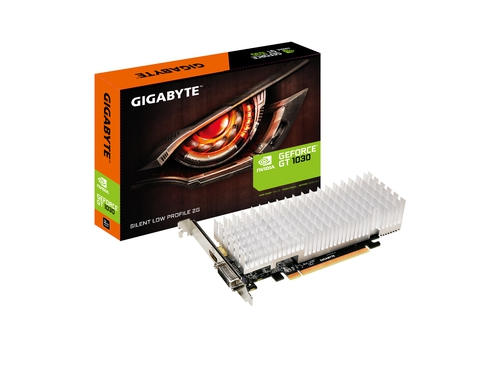 Karta graficzna Gigabyte GeForce® GT 1030 Silent Low Profile 2G, 2GB, DVI/HDMI - GV-N1030SL-2GL