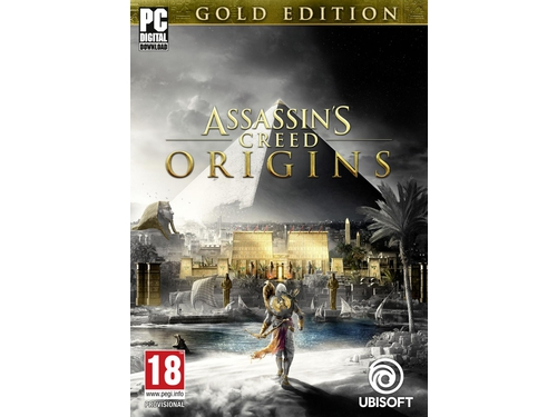 Gra PC Ubi Soft wersja cyfrowa Assassin's Creed® Origins - Gold Edition E43036