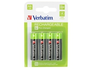 Verbatim AA RECHARGEABLE BATTERIES 4 PACK VERBATIM - 49941