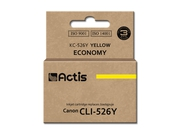 ACS tusz do Canon CLI-526Y (WITH CHIP) KC-526Y
