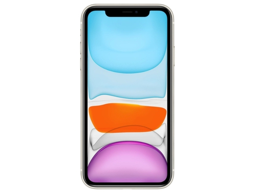 Smartfon Apple iPhone 11 64GB White MWLU2PM/A Bluetooth WiFi NFC GPS LTE 64GB iOS 13.x kolor biały