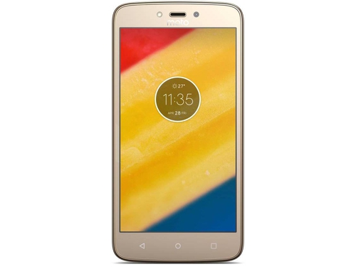 Smartfon Motorola Moto C Plus Bluetooth WiFi GPS 16GB Android 7.0 Whole Gold