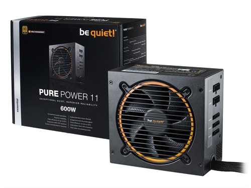 ZASILACZ BE QUIET! PURE POWER 11 - CM 600W - BN298
