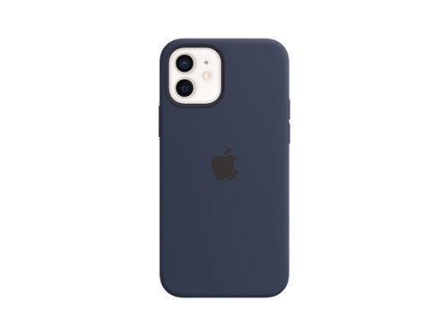 Apple iPhone 12 Pro Silicone Case with MagSafe - Deep Navy - MHL43ZM/A