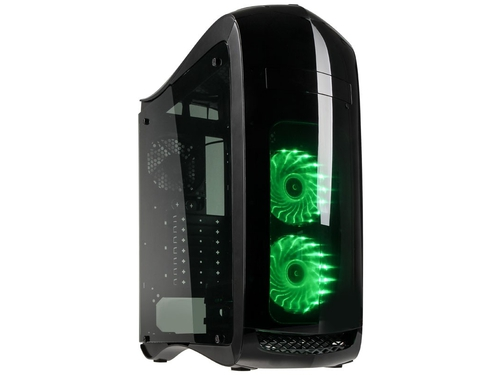 Obudowa Kolink Punisher RGB Midi-Tower czarna okno - PUNISHER RGB