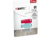 Pendrive EMTEC Flash Wallpaper 8GB USB 2.0 ECMMD8GM752P3WP01