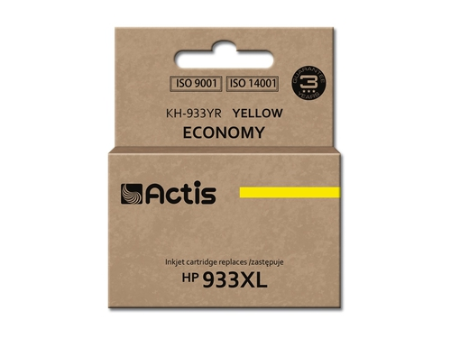 Actis KH-933YR tusz yellow do drukarki HP (zamiennik HP 933XL CN056AE) Standard