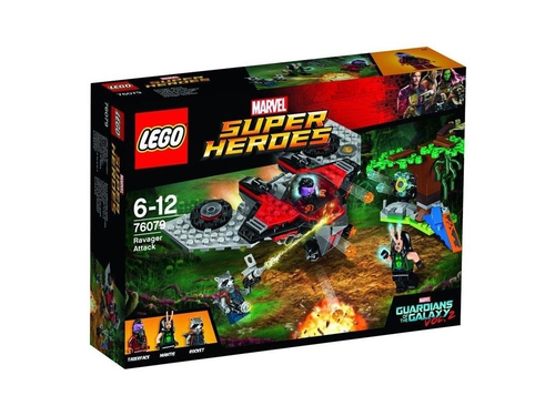 LEGO SUPER HEROES Ravager Attack - 5702015868648