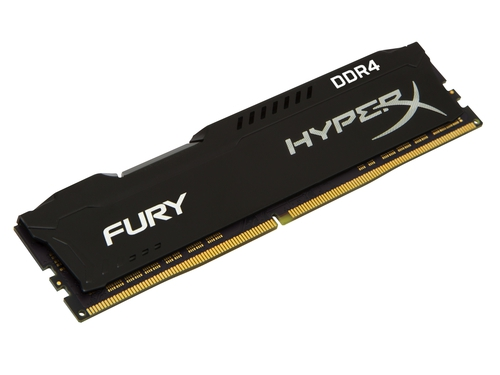 KINGSTON HyperX FURY DDR4 16GB 2400MHz Black - HX424C15FB4/16