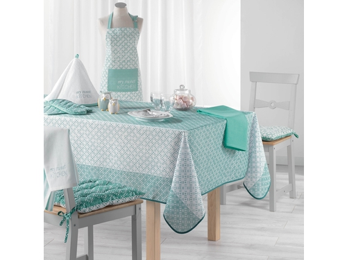Obrus NAPPE 150X200 Lucie Menthe - ROM210
