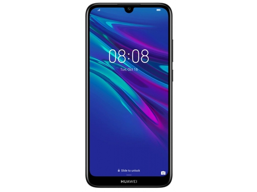 Smartfon Huawei Y6 32GB Midnight Black Bluetooth WiFi GPS LTE 32GB Android 9.0 Midnight Black