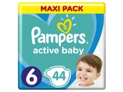 Pampers pieluchy Active Baby Dry Maxi Pack S6 44szt