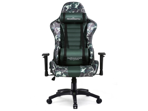Fotel gamingowy WARRIOR CHAIRS Fields of Battle FOREST CAMOUFLAGE