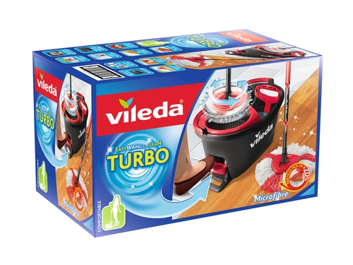 VILEDA Mop Easy Wring and Clean TURBO 163422
