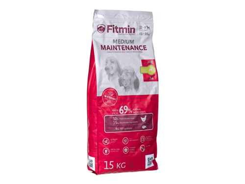 Karma Fitmin dog medium maintenance - 15 kg