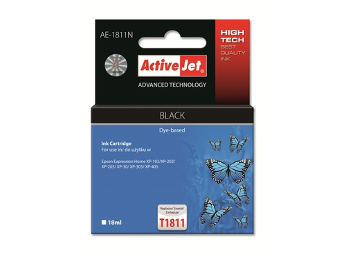 Activejet tusz Eps T1811 Bk new AE-1811N