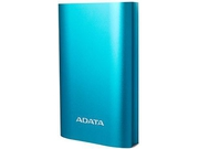 ADATA A10050QC Power Bank, 10050mAh, blue - AA10050QC-USBC-5V-CBL