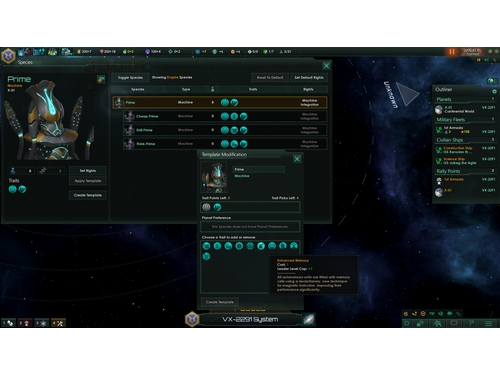 Gra PC Stellaris Synthetic Dawn wersja cyfrowa DLC