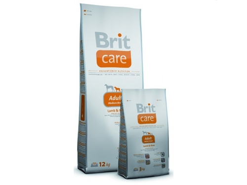 Brit Care Adult Medium Breed Lamb & Rice12