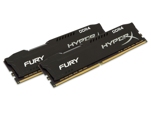 KINGSTON HyperX FURY DDR4 2x16GB 2400MHz Black - HX424C15FB4K2/32