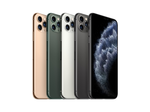 "Smartfon Apple iPhone 11 Pro Max 256GB 6.5"" OLED LTE Midnight Green - MWHM2CN/A"
