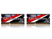 G.SKILL DDR3 2x4GB 1600MHz CL9 SO-DIMM - F3-1600C9D-8GRSL