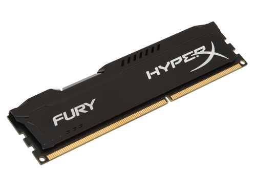 Pamięć RAM Kingston HyperX FURY DDR3 4GB 1600 MHz CL10 Czarny - HX316C10FB/4